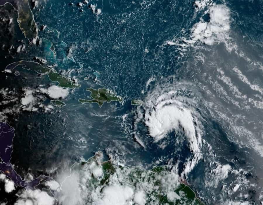 La tormenta tropical Fred se acerca a República Dominicana