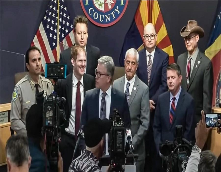 Informe de operaciones gubernamentales inapropiadas de las elecciones de 2020 Presentado al Senado de Arizona se enviará al Fiscal General