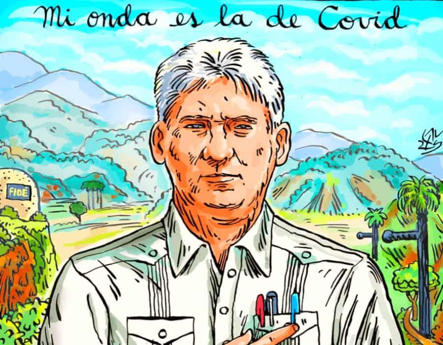 Diaz Canel, la virgen y el espectro de Castro