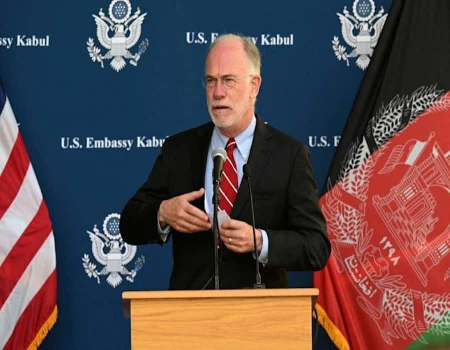 Alto diplomático estadounidense en Afganistán da positivo a prueba COVID