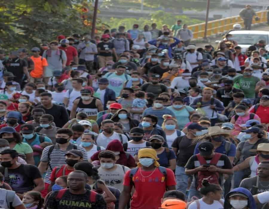 Migración mexicana intercepta a casi 2.000 indocumentados en un solo día