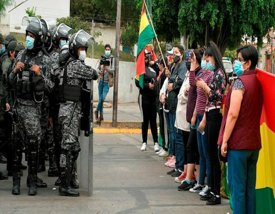 La oposición boliviana manifestó contra un proyecto de ley de ganancias ilícitas