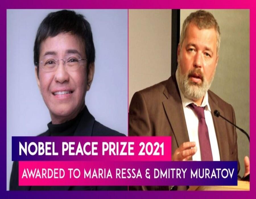 Periodistas de Filipinas y Rusia ganan el Nobel de la Paz